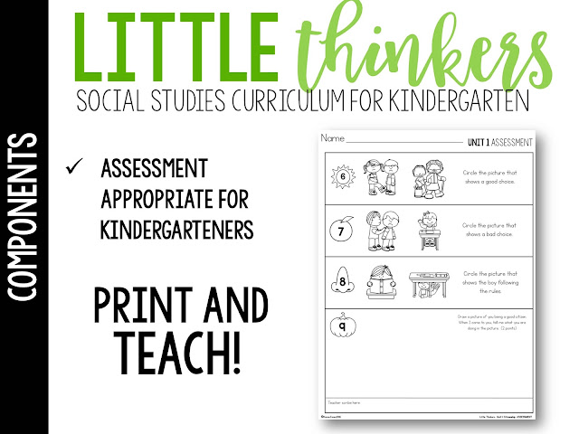 social studies for kindergarten