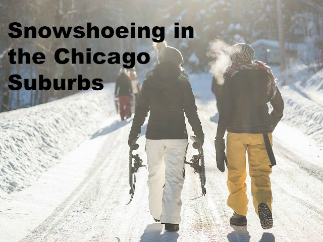 Snowshoeing ideas in the Chicago suburbs