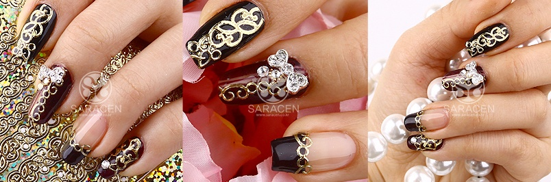SARA NAIL: Nail accessories, 3D Nail Design, 3D Nail Seal ...