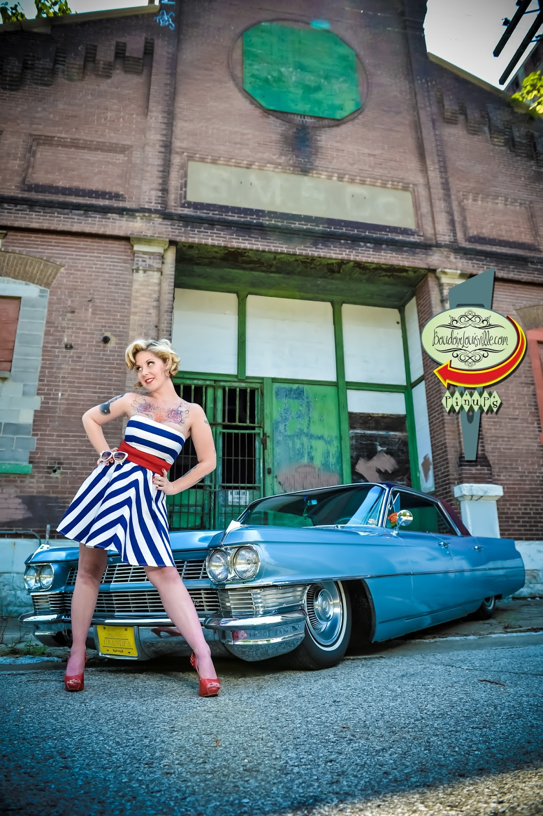 Louisville Boudoir and Pinup Photographers: Cadillac Pinup ...