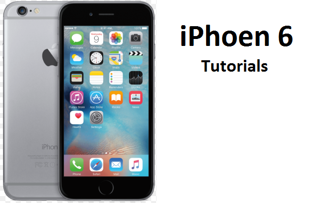 IPhone 6 Tutorials - Introduction