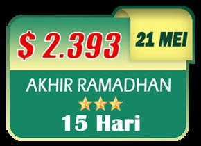 paket umroh akhir ramadhan 2019
