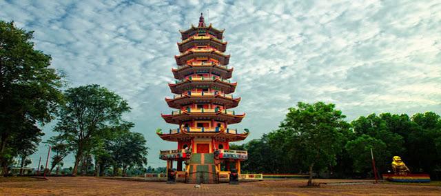Pagoda Pulau Kemaro Palembang