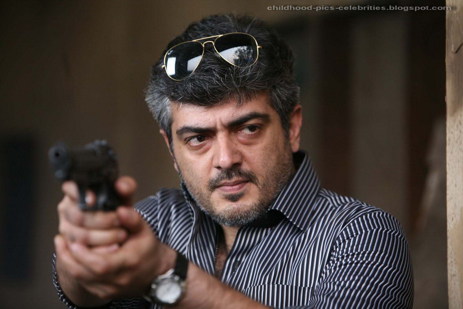 Childhood pictures of Celebrities Actor Actress: Ajith ...  Childhood pictu...
