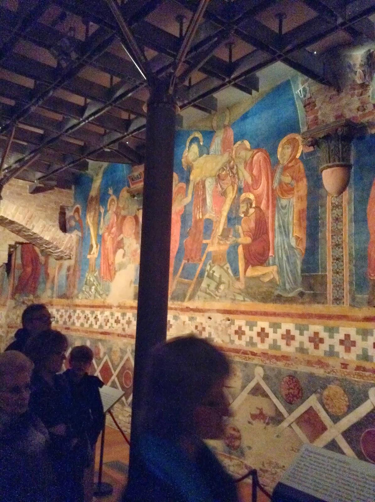 My day worth: Sotto il Duomo di Siena: la Cripta