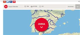 Mapa Rios España Interactivo.Los Quintos Del Tierno Mapa Interactivo Rios Espana