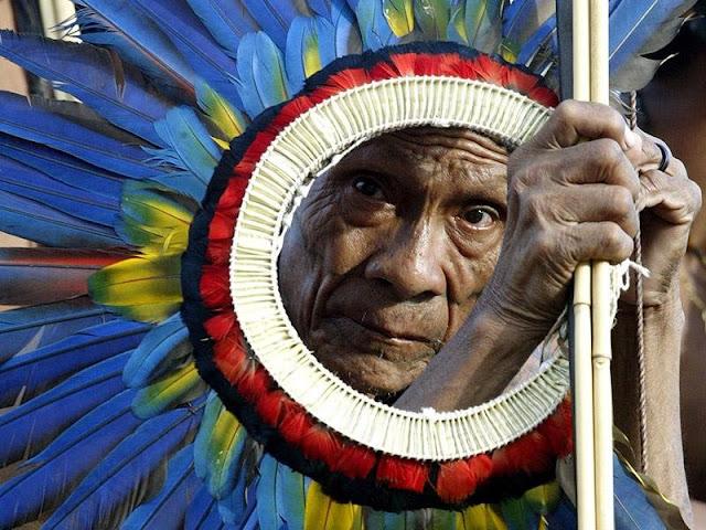 Brazil Surui Indian Aboriginal American