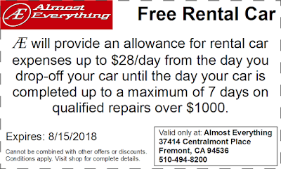 Coupon Free Rental Car July 2018