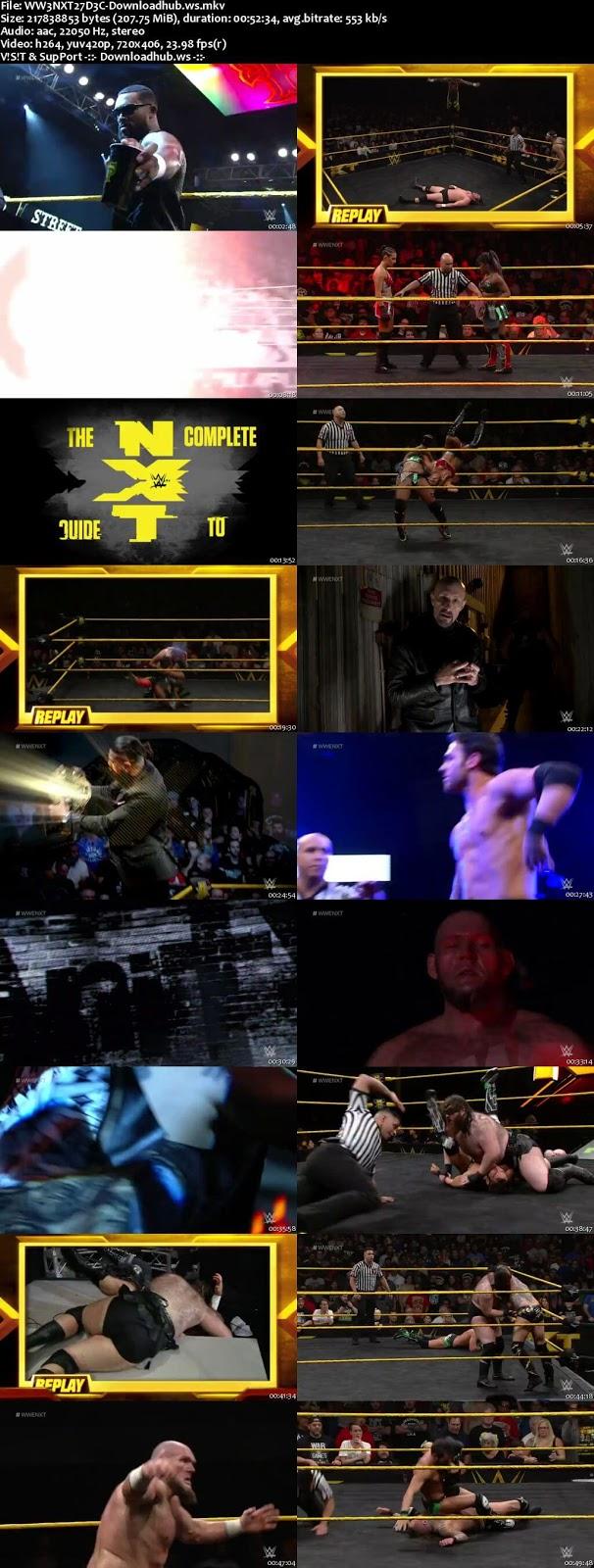WWE NXT 27 December 2017 480p HDTV