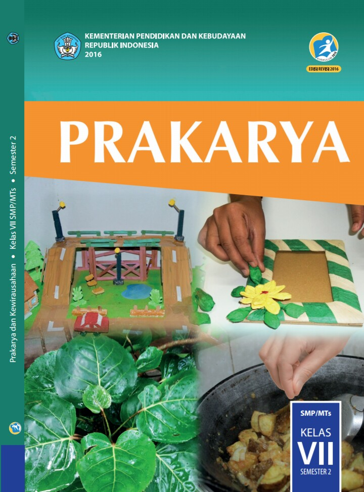 Materi Prakarya Kelas 7 VII Semester 2 SMP MTs Kurikulum