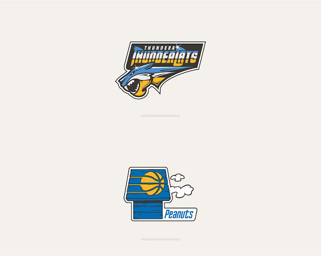 NBA Teams x 80´s Toons Logos