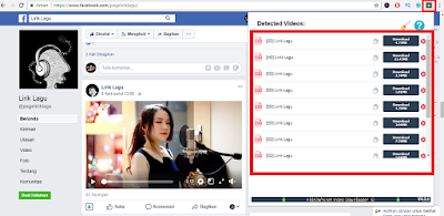 Cara Download Video di Facebook dengan Ekstensi Browser (PC/Komputer)