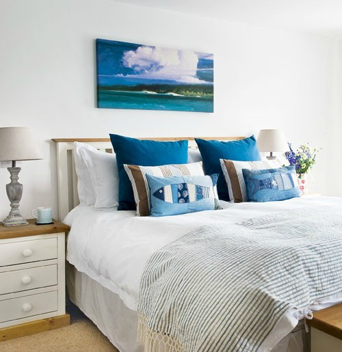 Coastal Country Bedrooms - Coastal Decor Ideas and Interior Design ...