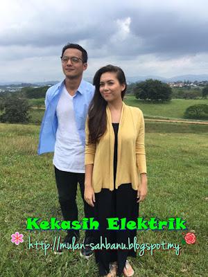 Telemovie Kekasih Elektrik lakonan Redza Minhat, Siti Saleha, Amerul Affendi, Bront Palarae