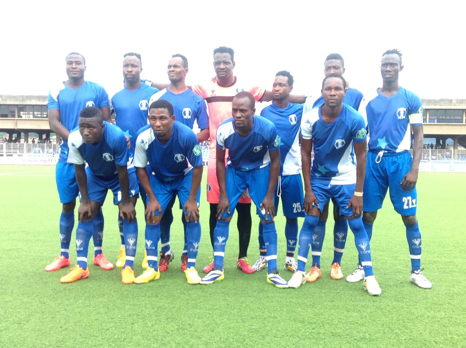 Amoo delighted with win over 'almighty' Enyimba