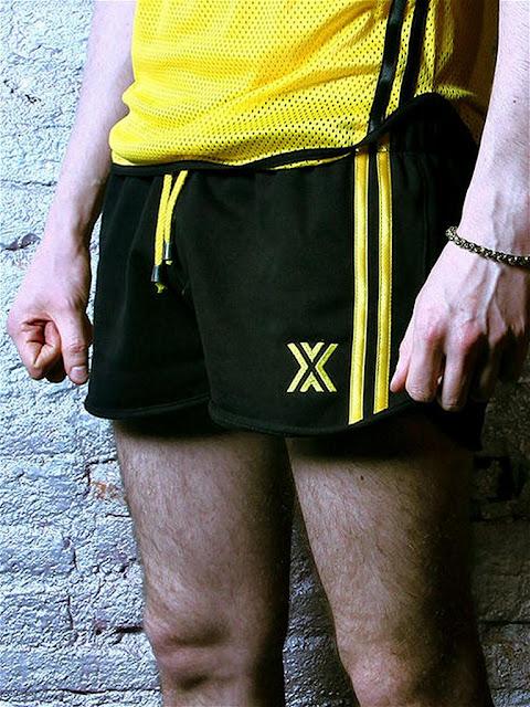BoXer-Felt-Gym-Miniboxer-Short-Black-Yellow-Gayrado-Online-Shop