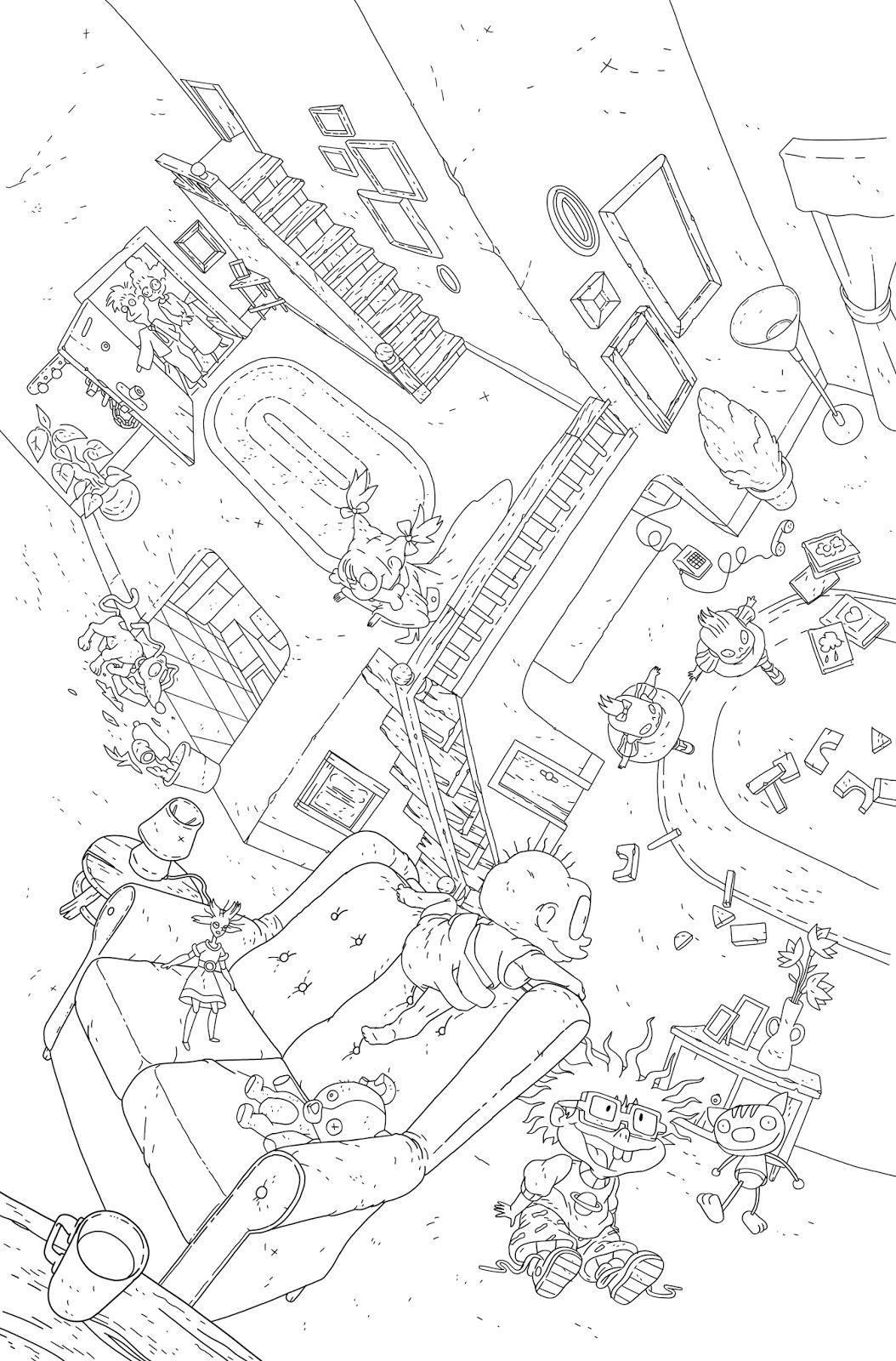 NickALive!: First-Look At BOOM! Studios' Upcoming 'Rugrats