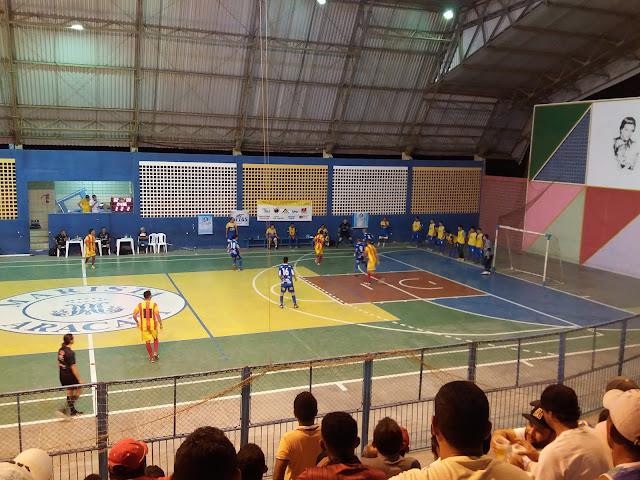 Aracati x Pague Menos Sub-20 Futsal (Foto: Junior Ribeiro)