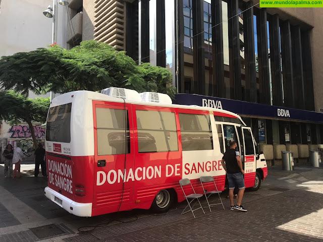 El ICHH acerca la donación de sangre hasta diferentes municipios de Gran Canaria, Tenerife y La Palma durante la próxima semana