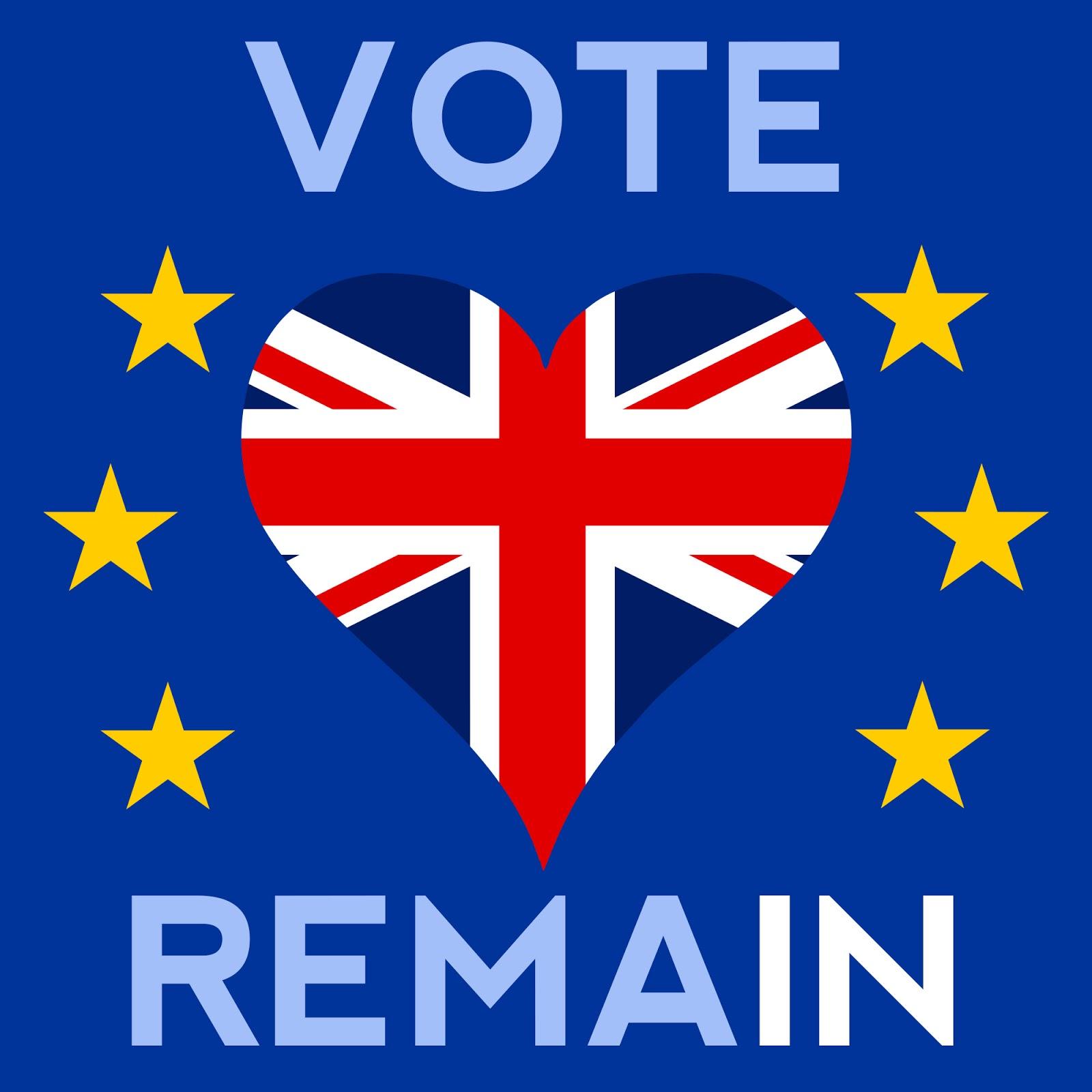 Jez Kemp's Blog: Vote Remain, for a positive UK future