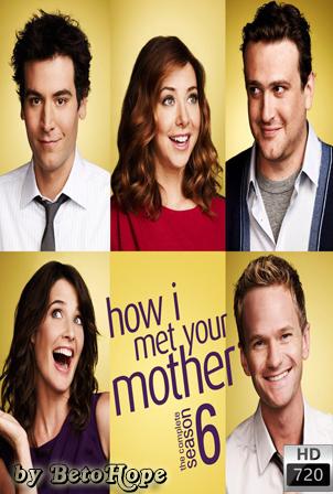 How I Met Your Mother Temporada 6 [720p] [2010] [Ingles Subtitulado] HD 1080P [Google Drive] GloboTV