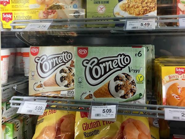 NEU: Cornetto glutenfrei & vegan ab Februar 2018