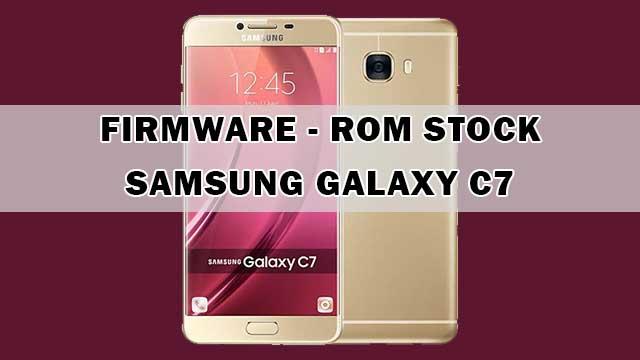 rom stock Samsung Galaxy C7 Clon