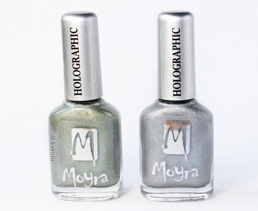 moyra holographic nail polish