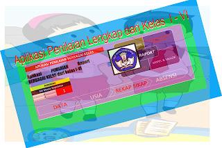 Aplikasi Pengolahan Nilai Raport SD Kelas I – VI