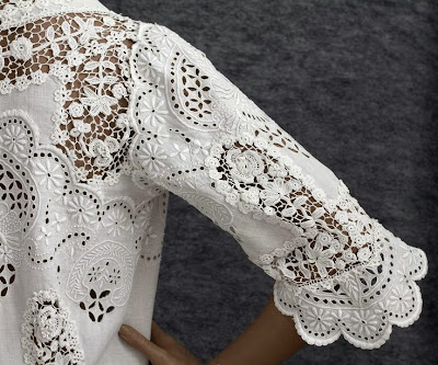 embridery with lace