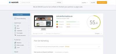 Woorank, herramienta seo para mejorar posicionamiento web