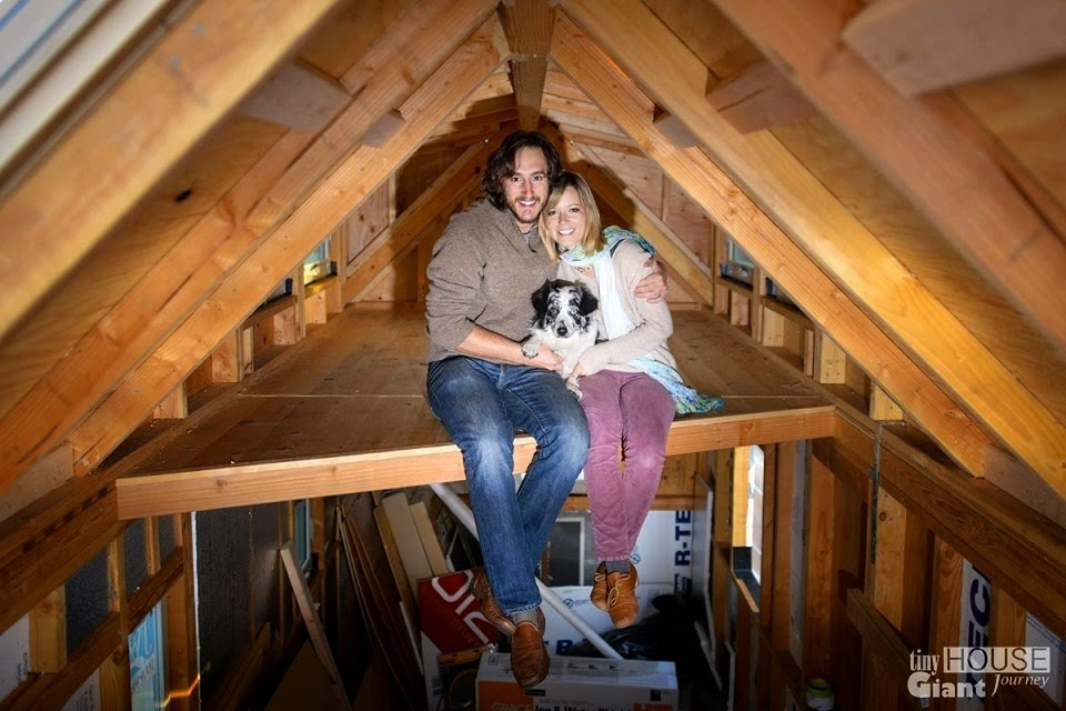 Two years ago, Guillaume Dutilh and Jenna Spesard realized they didn't want to spend another day chasing careers they didn't love. - This Couple Quit Their Jobs To Live Off-Grid… How They Did It Will Inspire You.