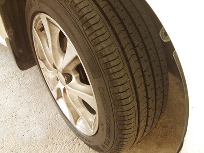 continental tire review for alza kuching