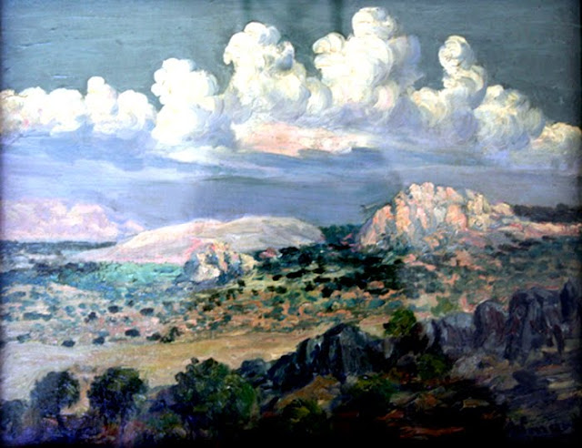 Juan Almagro López, Paisajistas españoles, Paisajes de Almagro López, Pintor español, Pintores de Jaén