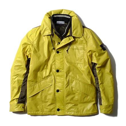 Die Jacke mit Farbwechsel - Stone Island Ice Jacket aus thermochromatischem Gewebe