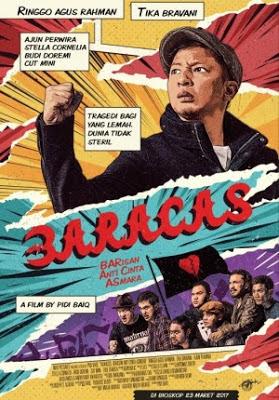 Download Film Baracas: Barisan Anti Cinta Asmara (2017) WEBDL