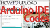 Cara Upload Arduino Code ke Microcontroller ATMega16