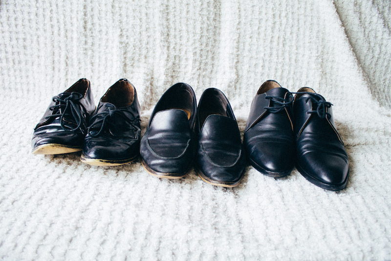 Black Leather Shoes - Style Interplay