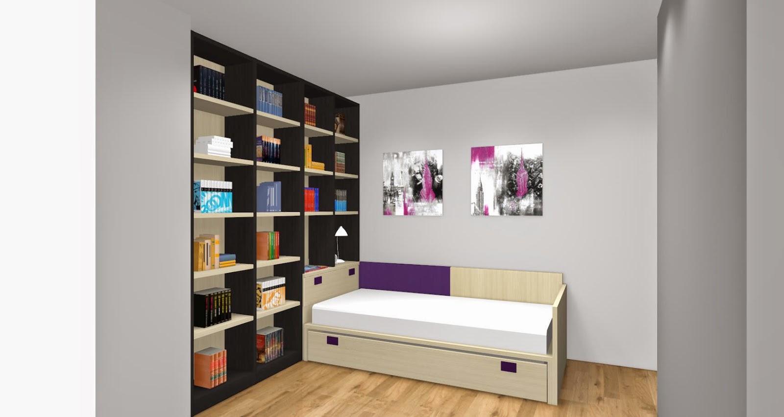 5 consejos para elegir los colores de un dormitorio - Dormitorios juveniles ...