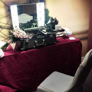 Beauty Corner para bodas.