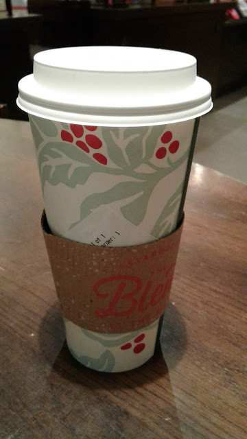 7 Shot Starbucks Americano cup with coffee jacket