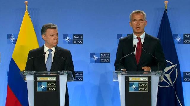 Colombia, primer 'socio global' latinoamericano de la OTAN