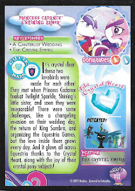 My Little Pony Princess Cadance & Shining Armor Series 3 Trading Card
