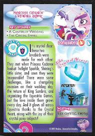 My Little Pony Princess Cadance & Shining Armor Series 3 Trading Card