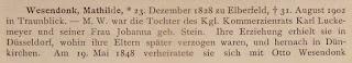 Biographisches Jahrbuch und Deutscher Nekrolog. VII. Band, 1902. Berlin 1905, S. 62