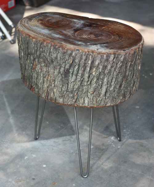 Tree Stump Coffee Table Elegant Image Of Diy