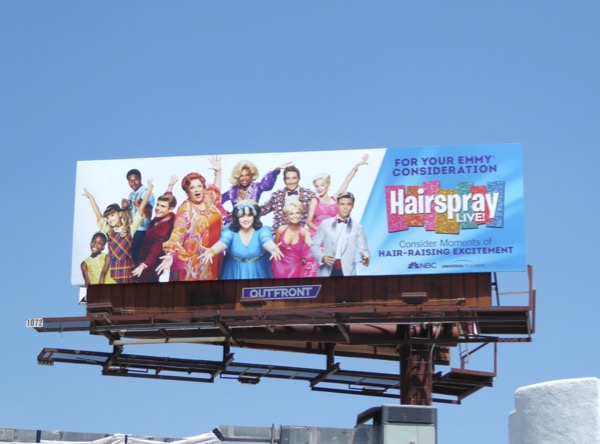 Hairspray Live Emmy FYC billboard