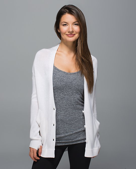 lululemon cardi-in-the-front