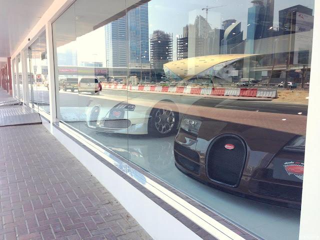 bugatti-veyron-dubai ドバイのヴェイロン