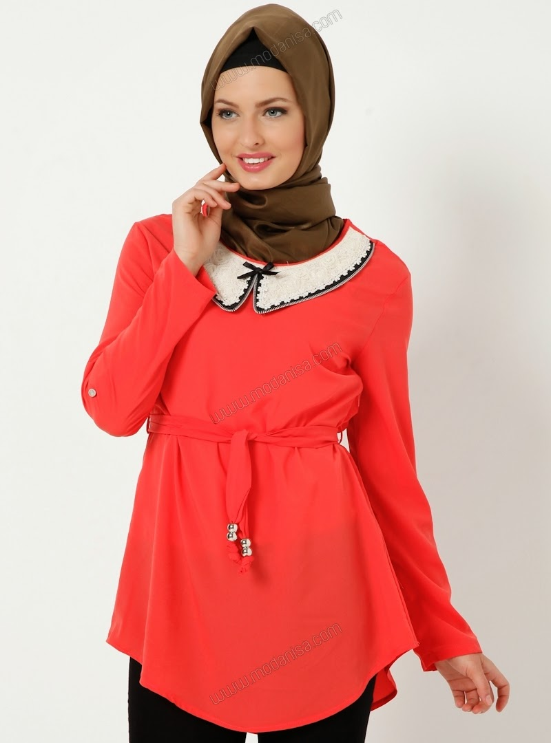 tunik hijab 2014 model